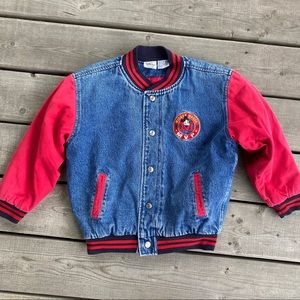 Youth Mickey Mouse Disney Letterman Jacket